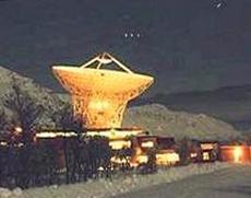Un radar ad altissima frequenza a Tromsø in Norvegia