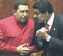 Chavez e Maduro