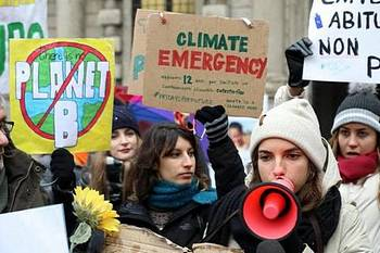Lo sciopero degli studenti sul clima
