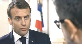 Macron a colloquio con Fazio