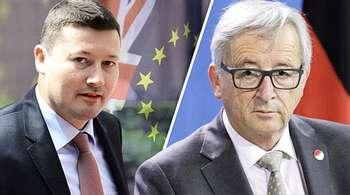 Martin Selmayr e Jean-Claude Juncker
