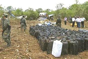 Aereo Cia caduto in Messico nel 2012 con 4 tonnellate di cocaina