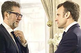 Fazio e Macron