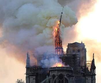 Il rogo di Notre-Dame