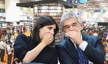 Appendino e Chiamparino al Salone del Libro di Torino