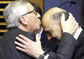 Juncker e Moscovici