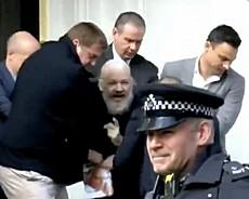L'arresto di Assange