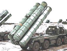 Batterie di missili russi S-400