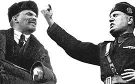 Lenin e Mussolini