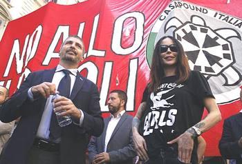 Simone Di Stefano, leader di CasaPound