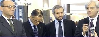 Bagnai, Borghi e Rinaldi con Magdi Allam