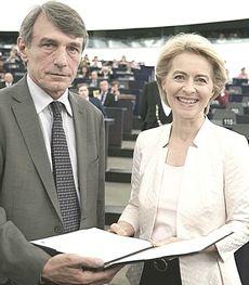 David Sassoli e Ursula von del Leyen