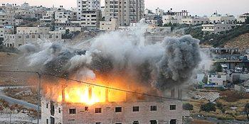 Demolizione di case palestinesi
