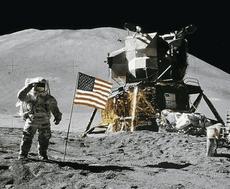 Il presunto allunaggio della missione Apollo 11