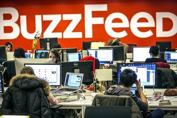 La redazione londinese di BuzzFeed
