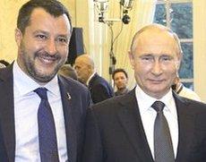 Salvini e Putin a Roma