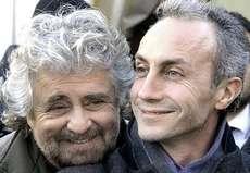 Beppe Grillo e Marco Travaglio