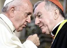 Bergoglio e Parolin