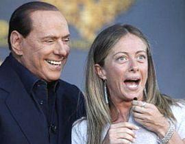 Berlusconi e Meloni
