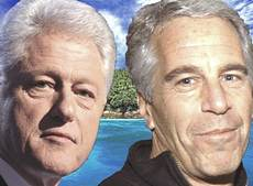 Bill Clinton e Jeffrey Epstein