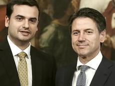 Carlo Sibilia con Conte