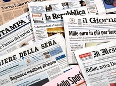 Crollano le vendite dei quotidiani nazionali
