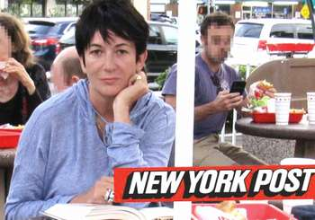 Ghislaine Maxwell nella foto del New York Post