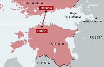 Il tunnel sotto il Baltico tra Estonia e Finlandia