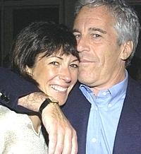 La Maxwell con Jeffrey Epstein