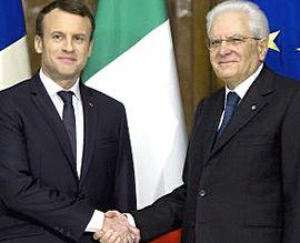 Macron e Mattarella