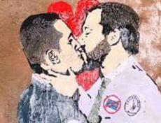 Murales Di Maio Salvini
