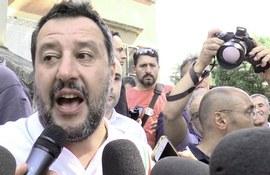 Salvini a Bibbiano