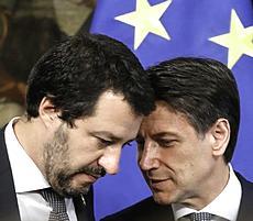 Salvini e Conte