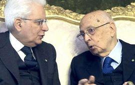 Mattarella e Napolitano