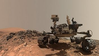 Repubblica, il Curiosity su Marte