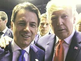 Conte e Trump