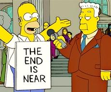 Homer Simpson: la fine è vicina