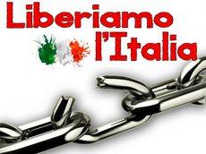 Il logo della manifestazione Liberiamo l'Italia