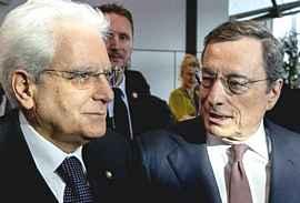 Mattarella e Draghi