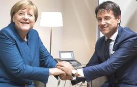 Merkel e Conte