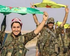 Miliziani curdi, uomini e donne
