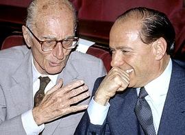 Montanelli e Berlusconi