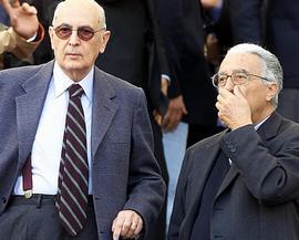 Napolitano e Cossutta