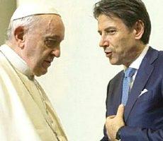Papa Francesco e Conte