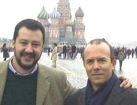 Salvini a Mosca con Savoini