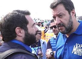 Salvini braccato da Report