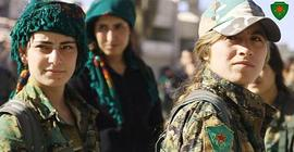 Soldatesse curde siriane