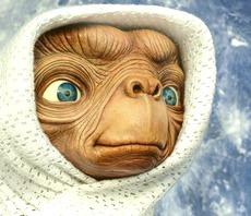 E.T., l'extraterrestre di Spielberg