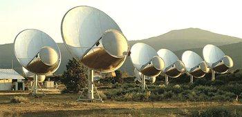 L'installazione Allen Telescope del Seti