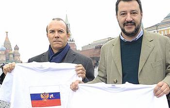 Salvini con Savoini a Mosca